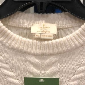 kate spade Sweaters - Kate Spade cable sweater